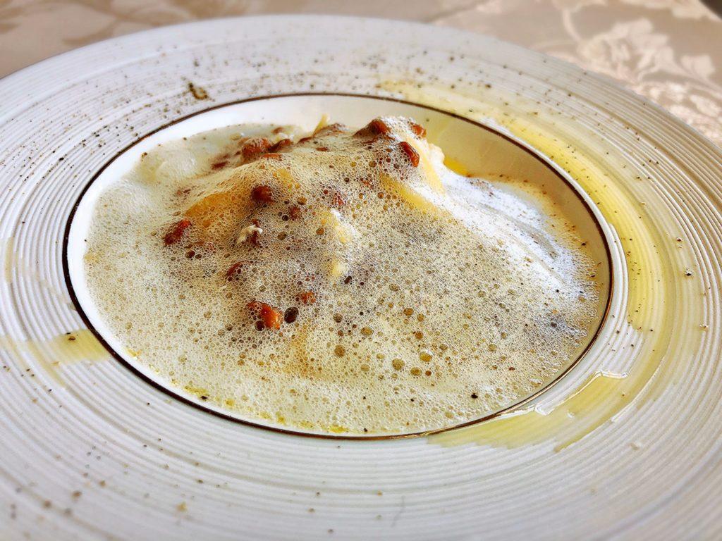 ルパリエのメニュー 納豆のペペロンチーノ