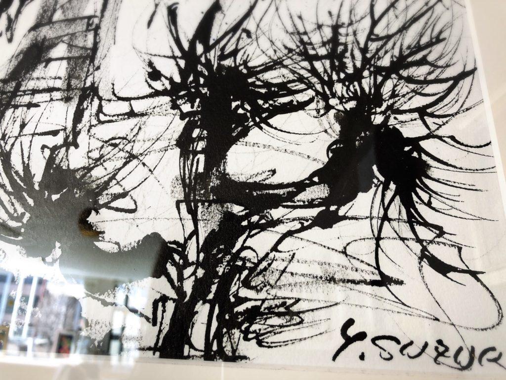 鈴木康雄 巡礼の街フランス 絵画